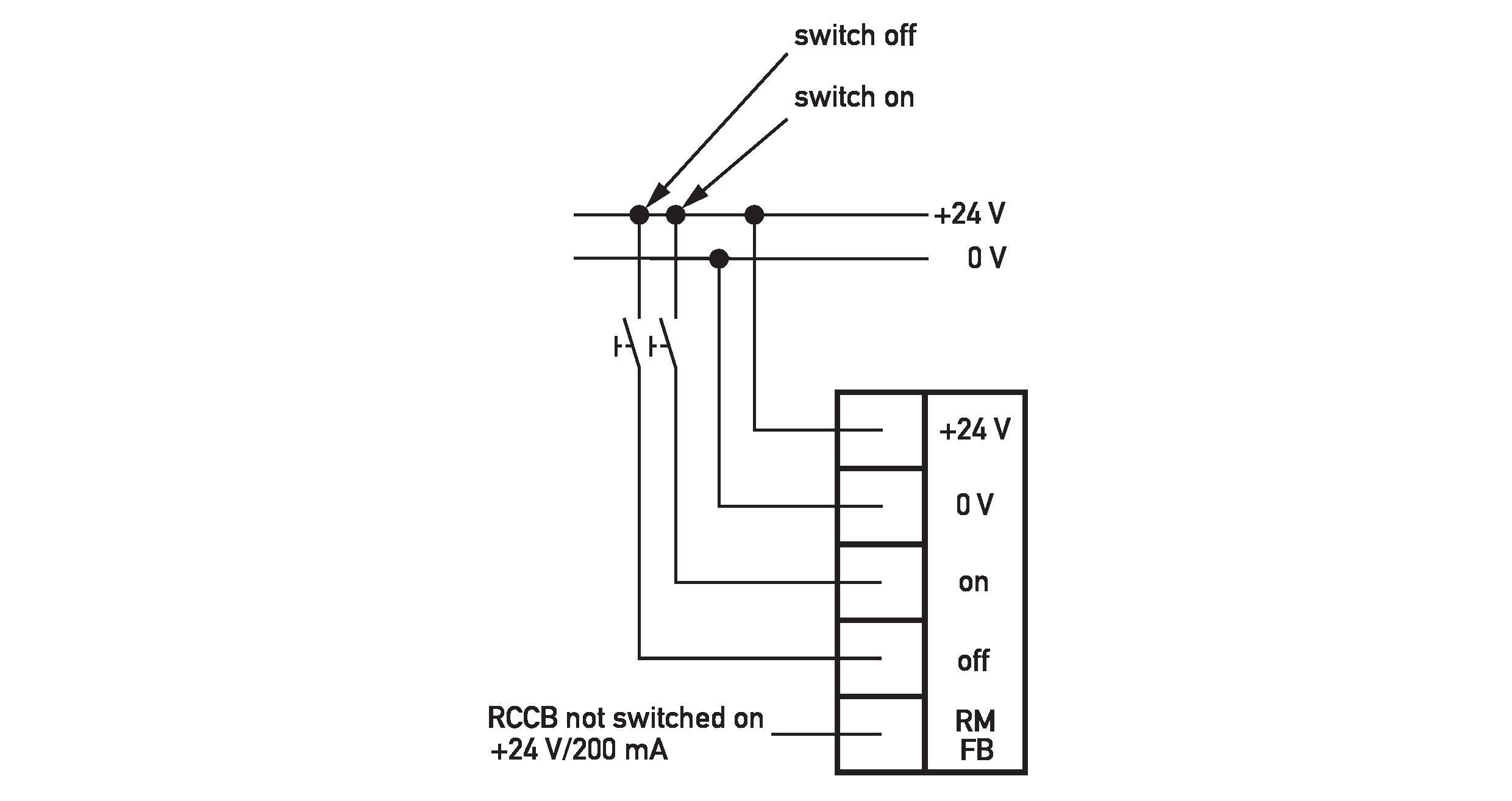 Doepke Automatic Reclosing Devices Dfa 3 024dc 0 Connection Diagram Of Rccb Prospectus Complete Brochure Wiring